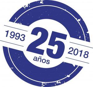 25 ANIVERSARIO AZUL