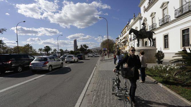 Paseo-Colon-carril-bici